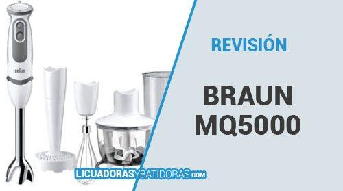 Batidora de Mano Braun MQ 5000