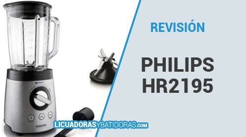 Batidora de Vaso Philips HR2195