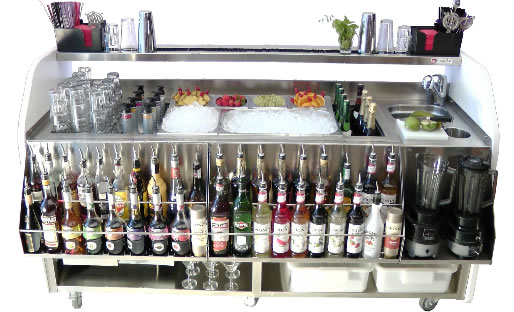 coctelera para bartender
