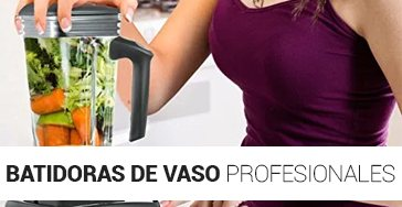 Batidoras de vaso profesionales