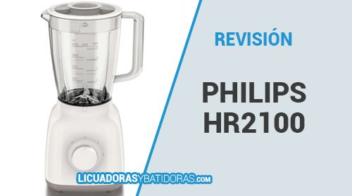Batidora de Vaso Philips HR2100