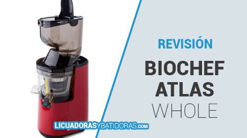 Licuadora Prensado en Frío BioChef Atlas Whole Slow Juicer