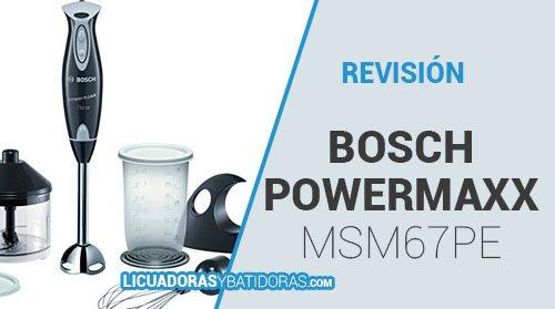 Batidora Bosch PowerMaxx MSM67PE