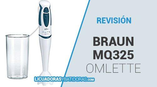Batidora de Mano Braun MQ325 Omlette