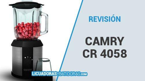 Batidora de Vaso Camry Cr 4058 – Revisión y Opiniones