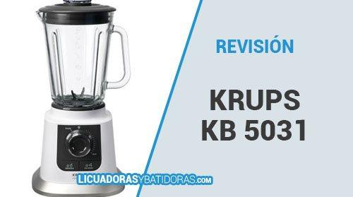 Batidora de Vaso Krups KB 5031 – Revisión y Opiniones