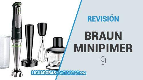 Batidora MQ9045X Braun Minipimer 9 Opiniones y Revisión
