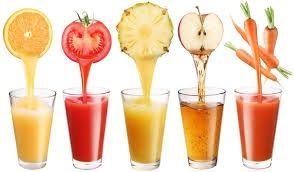 De la fruta al jugo