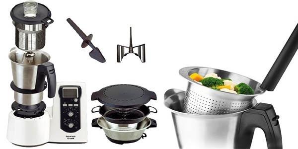 Variedad de opiniones sobre los robots de cocina Taurus