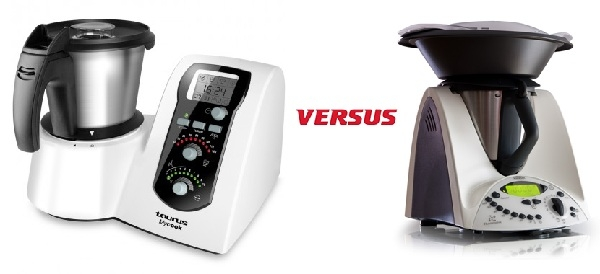 comparativa de Taurs con thermomix