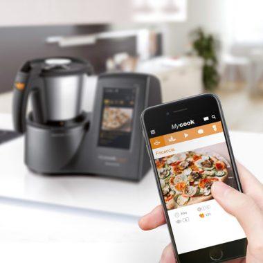 robot de cocina con wifi