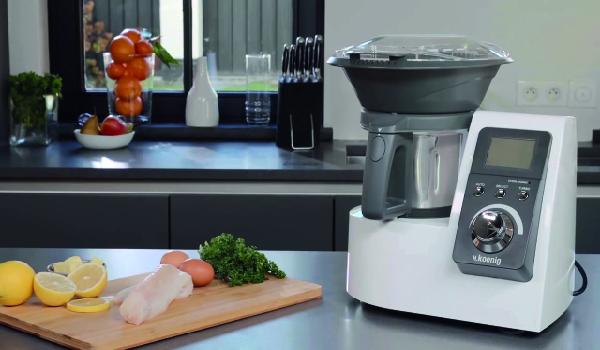 Preparación de alimentos robot de cocina