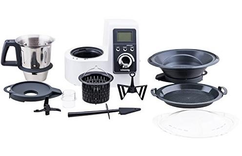 Partes del Robot de Cocina Koenig HKM H1032