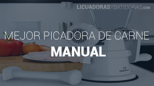 Picadora de Carne Manual