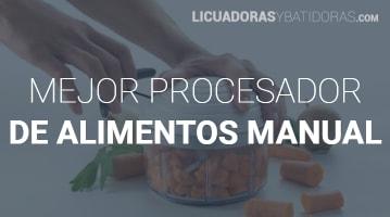 Procesador de Alimentos Manual