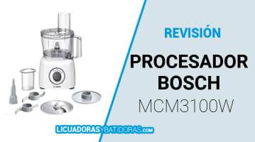 Procesador de Alimentos Bosch MCM3100W