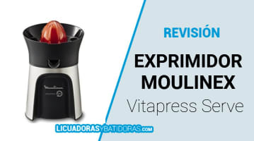 Exprimidor Moulinex Vitapress Direct Serve