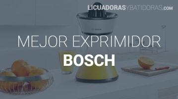 Exprimidor Bosch