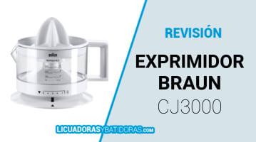 Exprimidor Braun CJ3000
