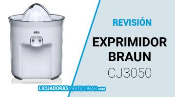 Exprimidor Braun CJ3050