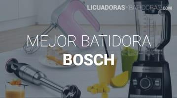 Batidoras Bosch