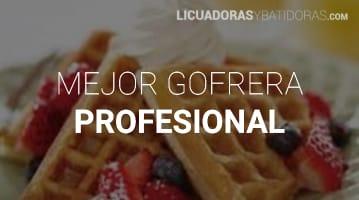 Gofrera Profesional