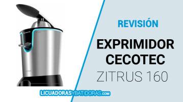 Exprimidor Cecotec Zitrus 160