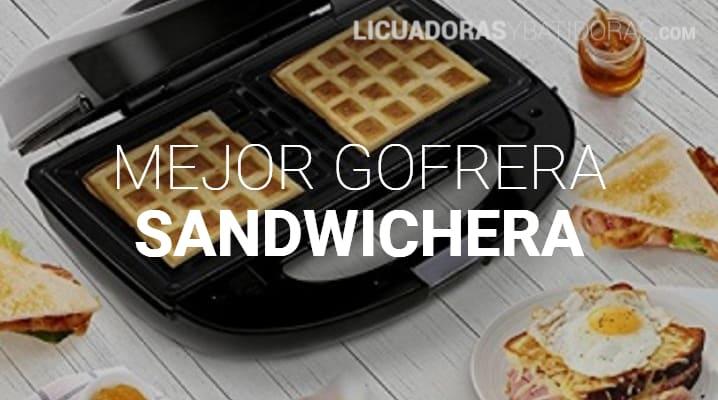 Gofrera Sandwichera