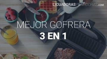 Gofrera 3 en 1