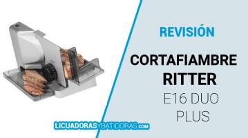 Cortafiambre Ritter E16 Duo Plus