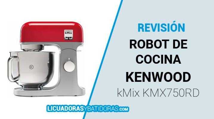 Robot de Cocina Kenwood kMix KMX750RD