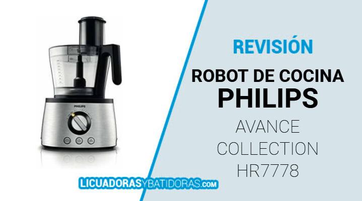 Robot de Cocina Philips HR7778