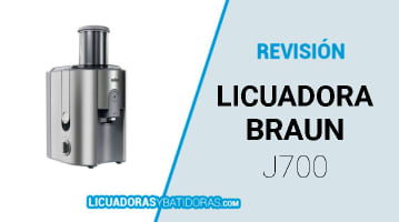 Licuadora Braun J700