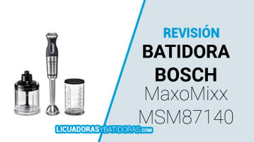 Batidora Bosch Maxomixx MSM87140