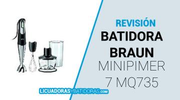 Batidora Braun MQ735