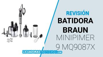 Batidora Braun MQ9087