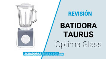 Batidora Taurus Optima Glass