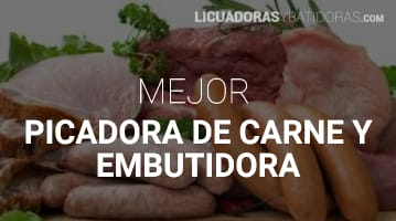 Picadora de Carne y Embutidora