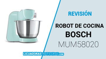 Robot de Cocina Bosch MUM58020