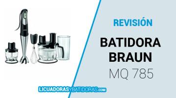 Batidora Braun Mq 785