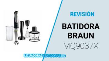 Batidora Braun Mq9037x
