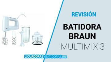 Batidora Braun Multimix 3