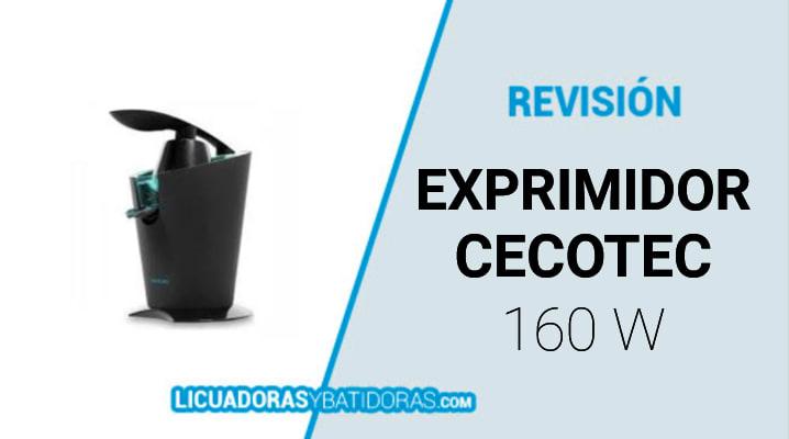 Exprimidor Cecotec Zitrus 160 Vita Black (160w)