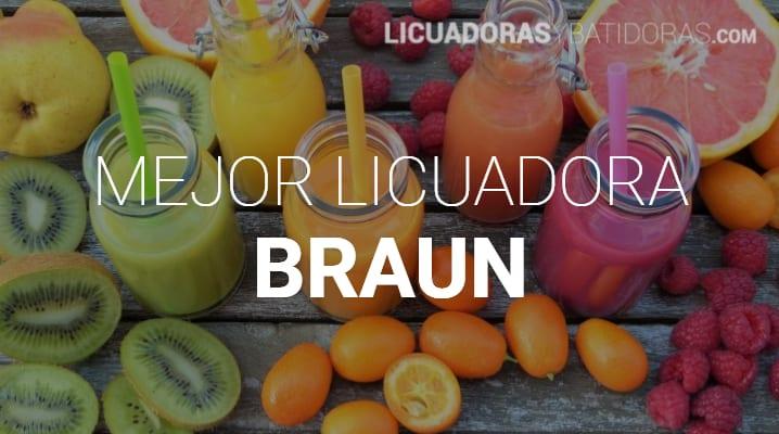Licuadoras Braun